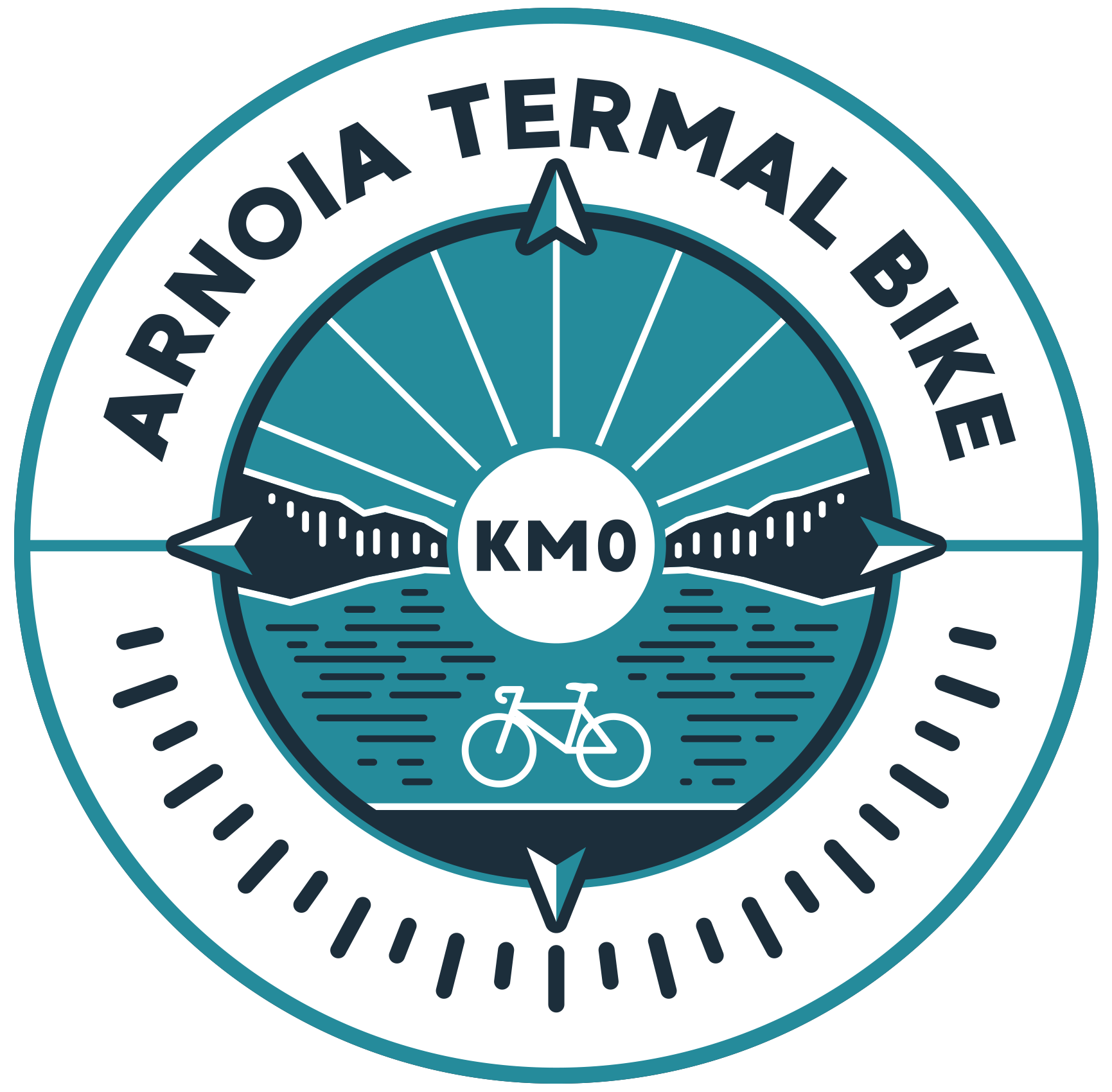 logo Arnoia Termal bike km0